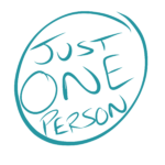 Logo for Just One Person